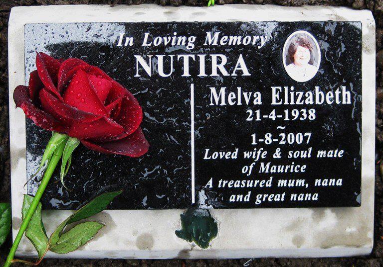 mums headstone